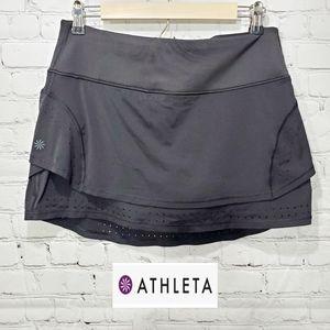 Athleta running golf tennis skort  shorts black m